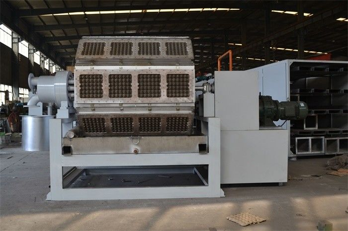 OEM Paper Pulp Egg Carton Making Machine , Egg Crate Making Machine